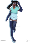 [Digital Art] Yauka V3 Official Concept