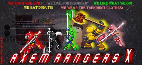 Axem Rangers X by Iron-KoolaidMan