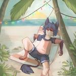 Trankilou a la plage