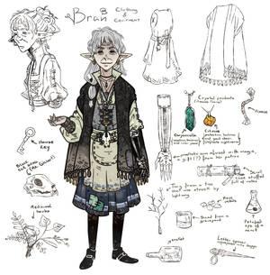Bran - First Character Sheet