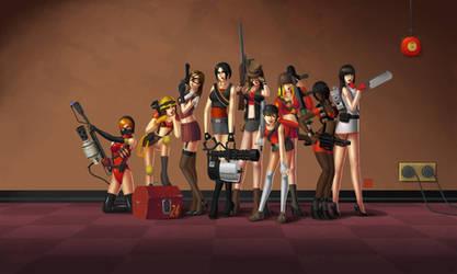 Team Sexy Too by yoshifreak