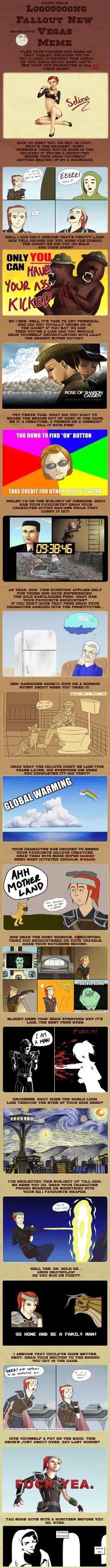 Fallout New Vegas Meme by yoshifreak
