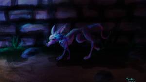 demon in the night