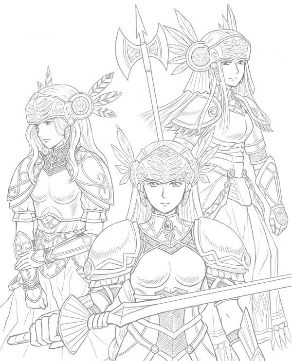 Valkyrie Sisters