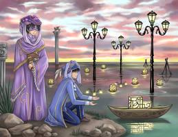 Water Lanterns - Sending by eveyw