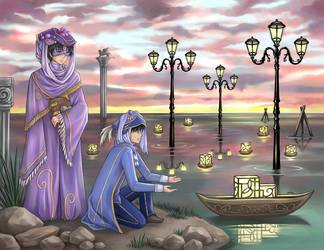 Water Lanterns - Sending