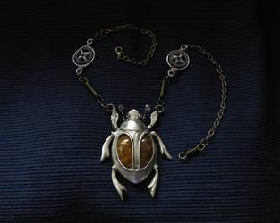 Silver Scarab by BringBackTheDodo