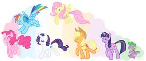 Pony Parade by Skdaffle