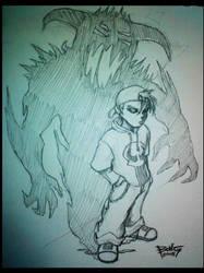 Shadow Virus Concept Art by tababongchi