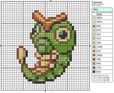 10 - Caterpie
