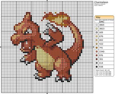 5 - Charmeleon by Makibird-Stitching