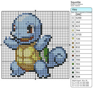 7 - Squirtle - Shiny