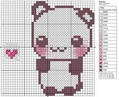 Panda by Makibird-Stitching