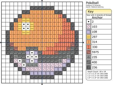 Pokeball by Makibird-Stitching