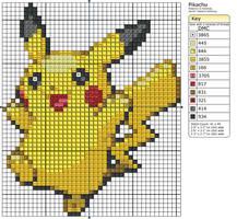 25 - Pikachu by Makibird-Stitching