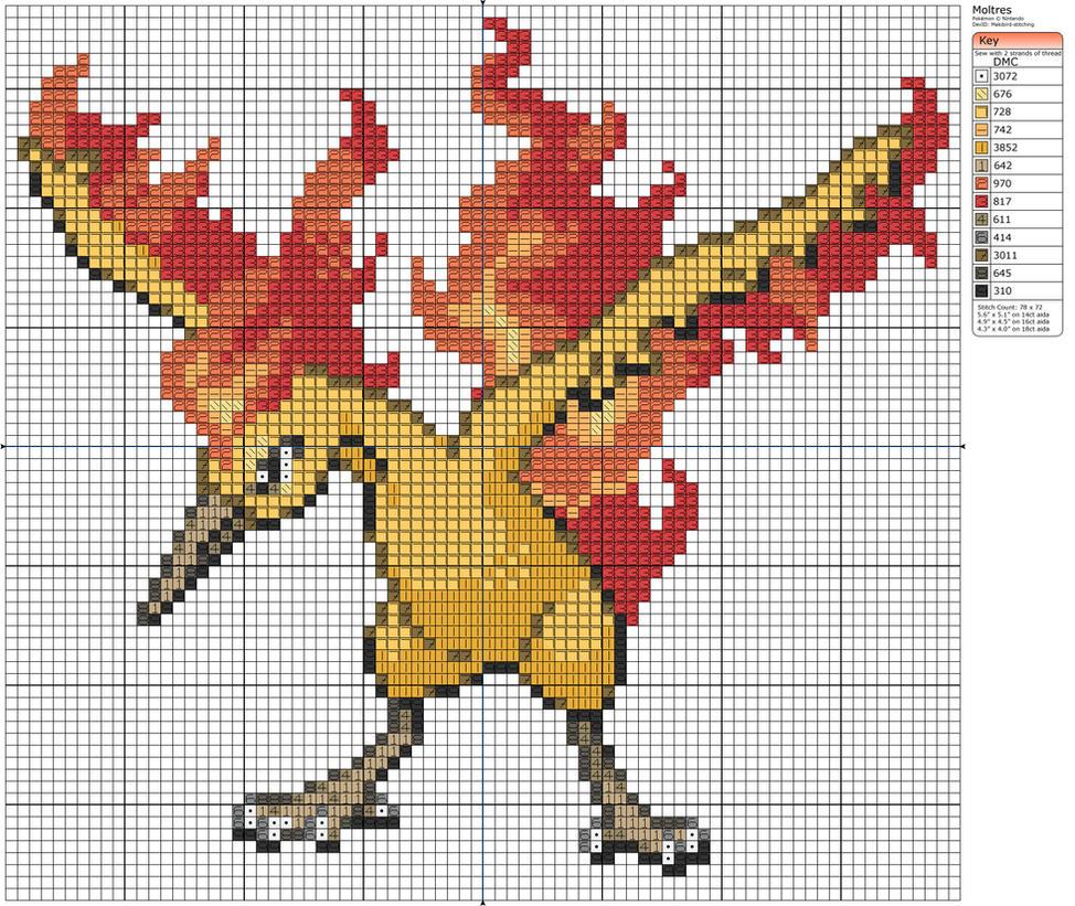 Entei Pixel Art