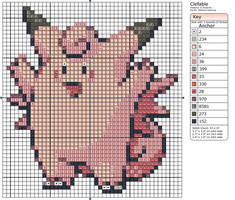 36 - Clefable by Makibird-Stitching