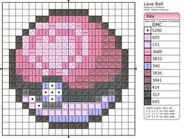 Love Ball by Makibird-Stitching