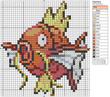 129 - Magikarp by Makibird-Stitching
