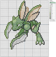 123 - Scyther by Makibird-Stitching