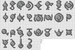 201 - Unown - Full Alphabet