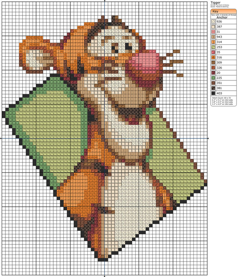 Tigger by Makibird-Stitching