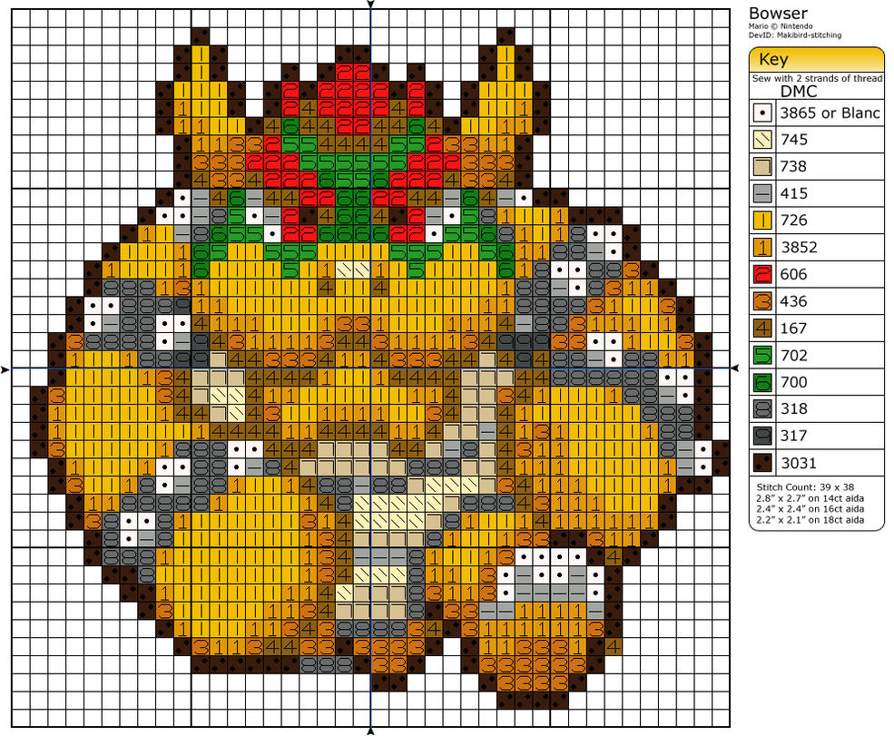 Bowser by Makibird-Stitching