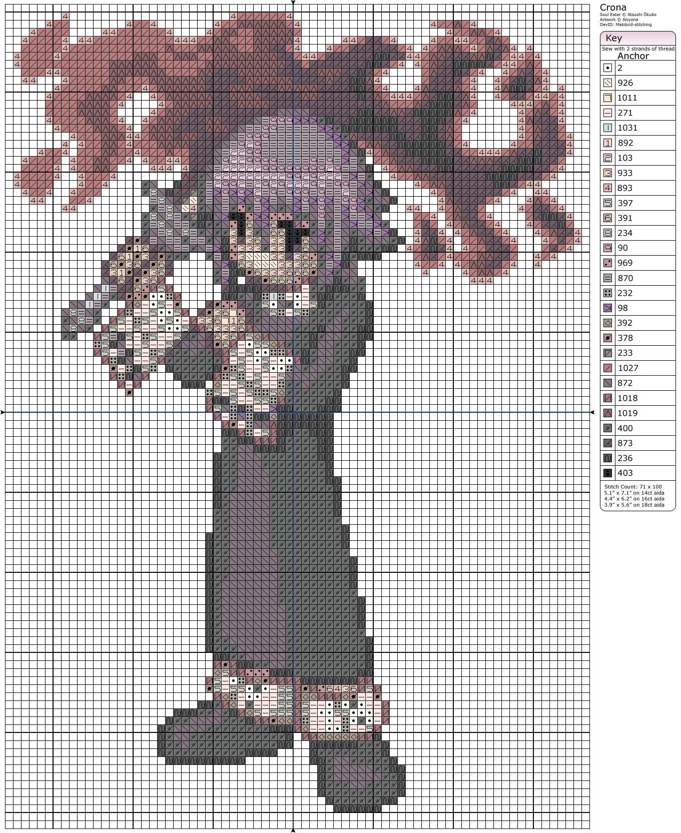 Soul Eater - Crona by Makibird-Stitching