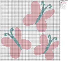 Pattern Preview: Fluttershy's Cutie Mark