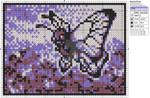 Pokemon - Butterfree by Makibird-Stitching