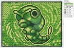 Pokemon - Caterpie by Makibird-Stitching