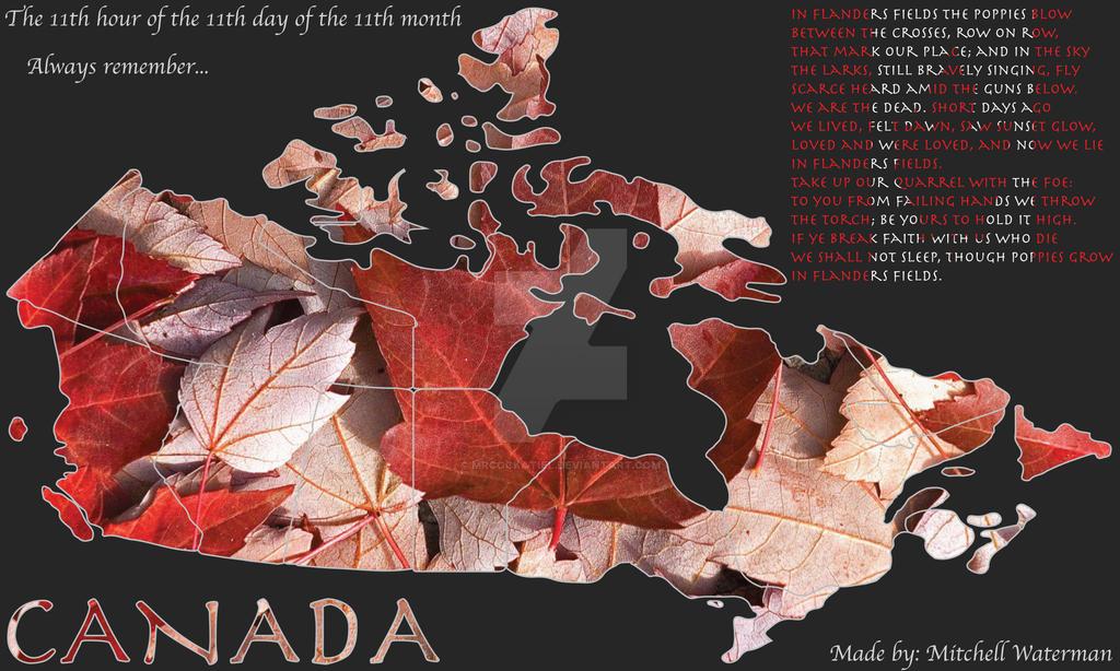 Oh Canada by MrCockatiel