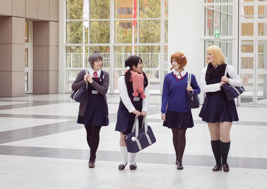 Schooldays [Tamako Market] by ChikaraSan