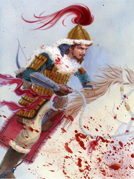 Genghis Khan by cjungart