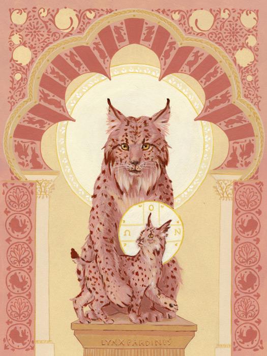 Iberian Lynx by cjungart