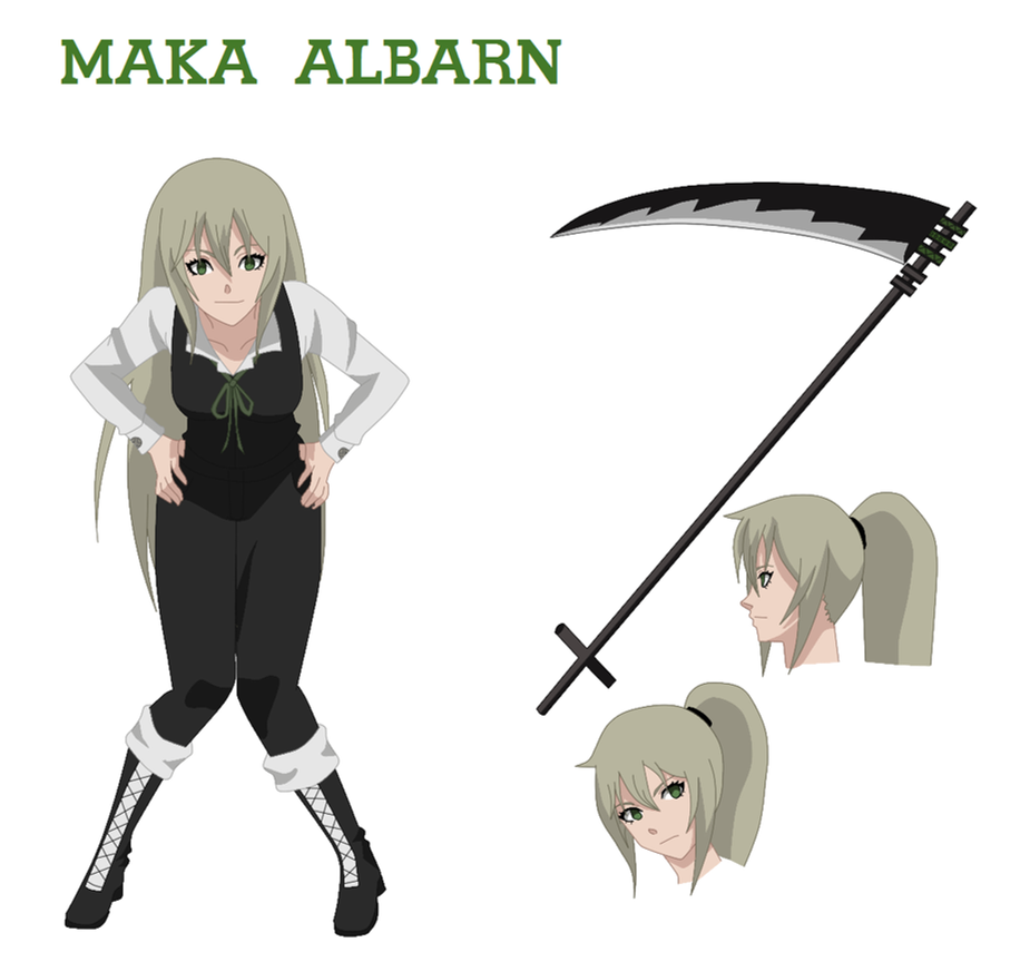 How To Character Design Anime : Maka albarn character design by anime geek on deviantart