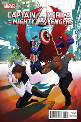 Captain America and the Mighty Avengers Variant 3
