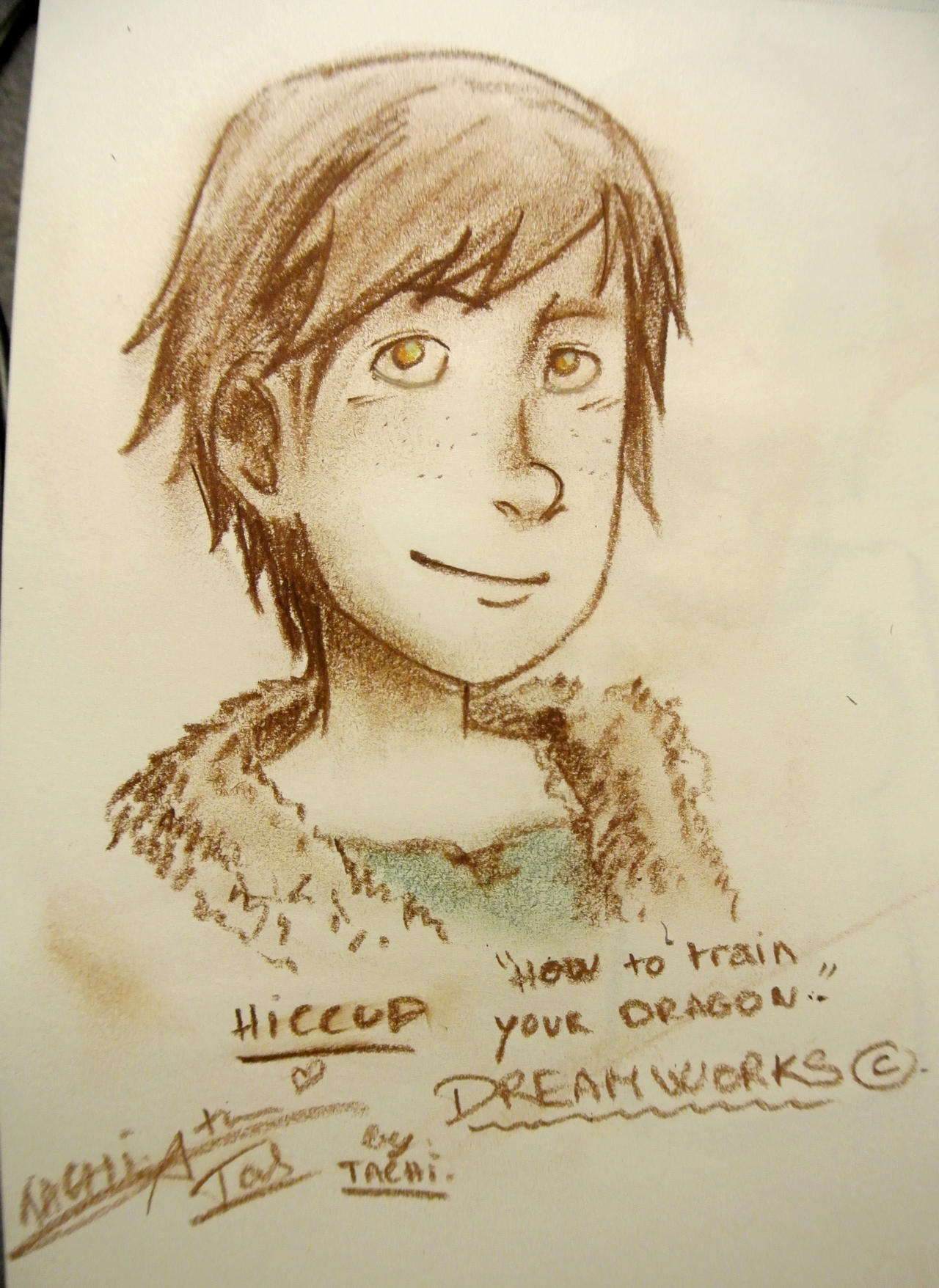 Hiccup how to train your dragon by nami chwann on deviantart hiccup how to train your dragon by nami chwann ccuart Choice Image