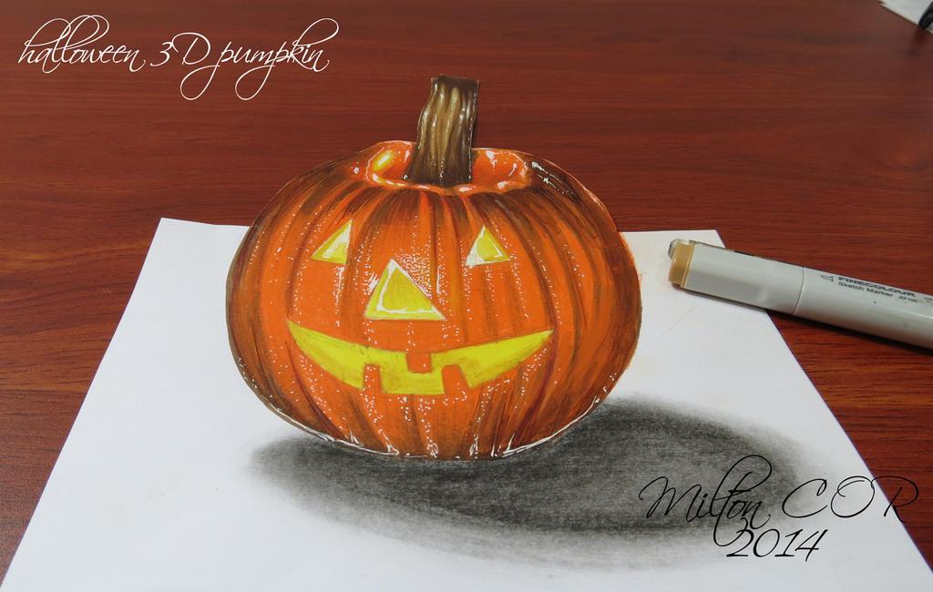 3d pumpkin wallpaper - photo #47