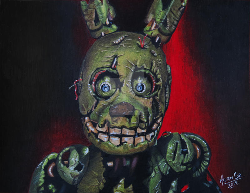 5 knights of freddy spring trap