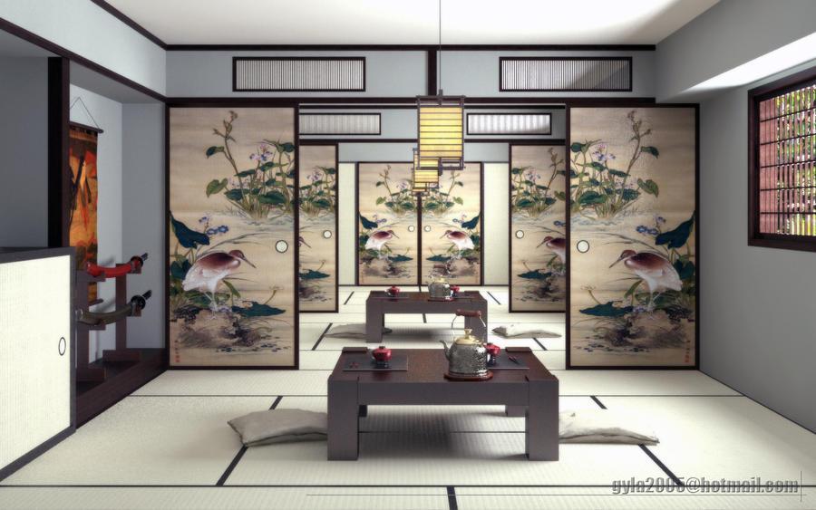 Japanese Room by gretan ... & Japanese Room by gretan on DeviantArt