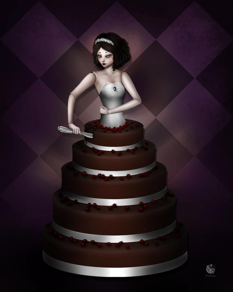 Doll cake by NImFpa