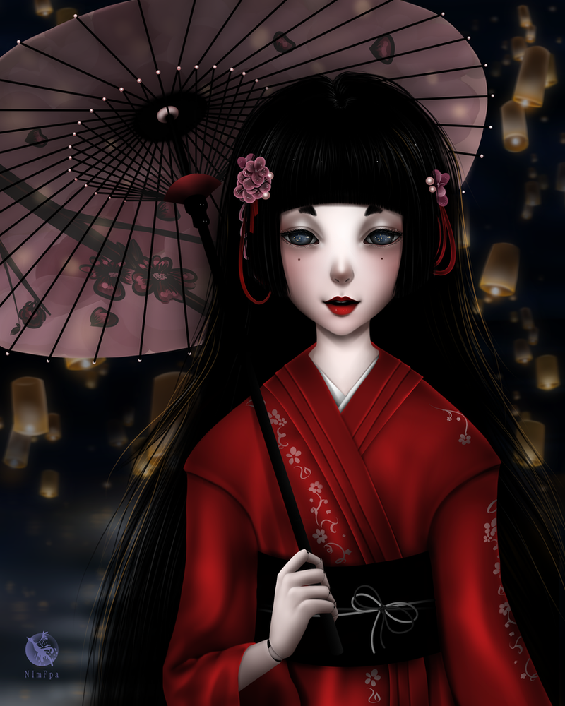 Japanese doll by NImFpa