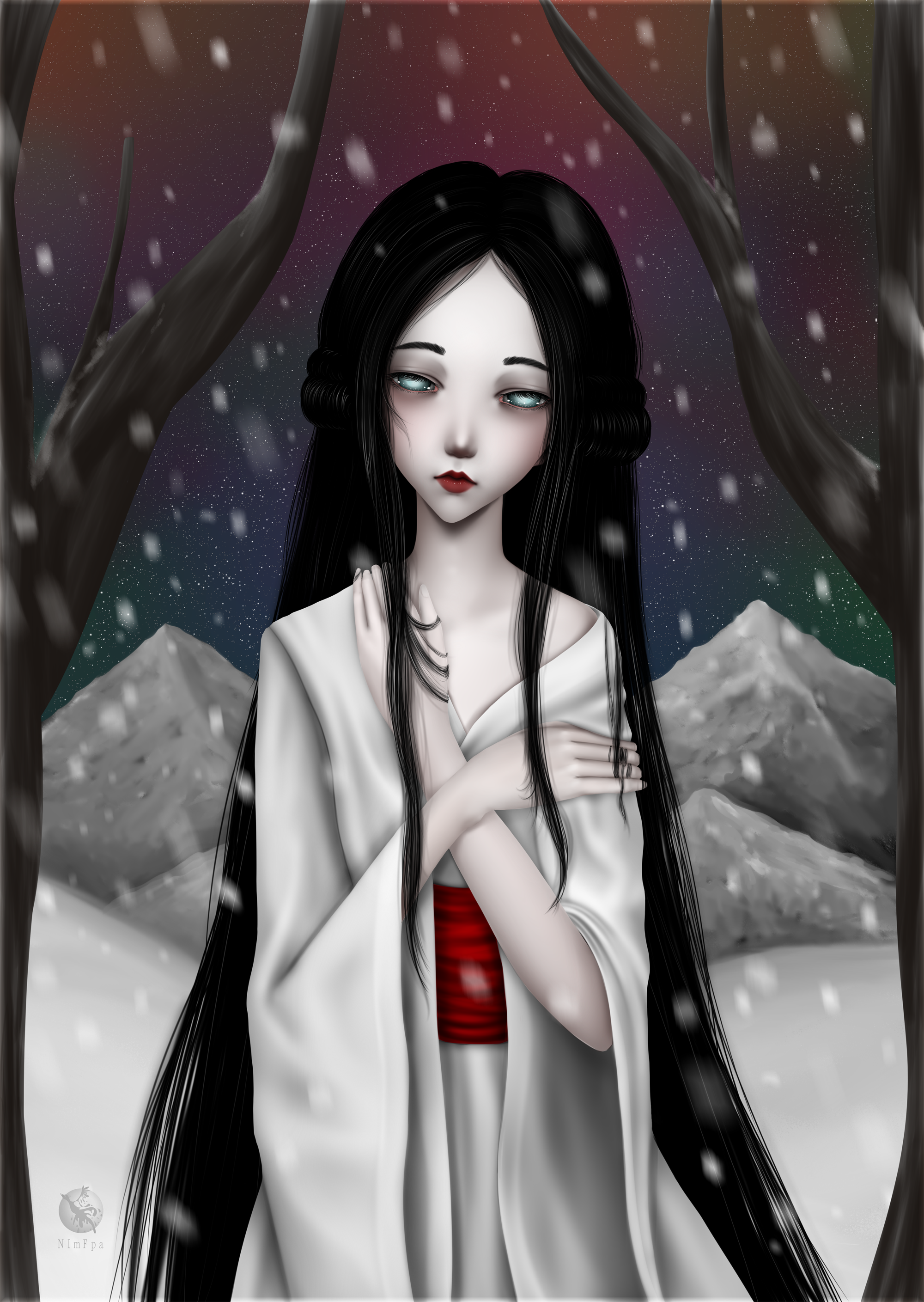 Yuki Onna By Nimfpa On Deviantart