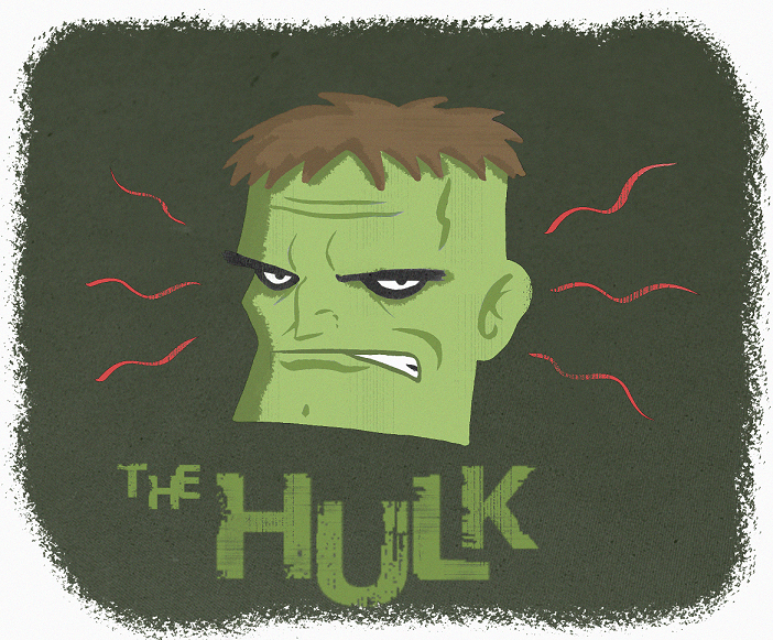 THE HULK by paintmarvels