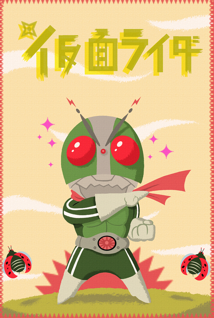 KAMEN RIDER by paintmarvels