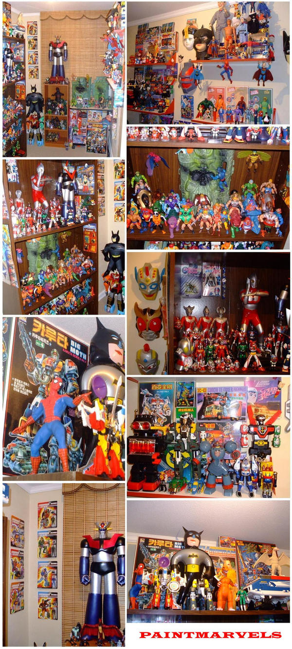 MY TOYS ROOM... by paintmarvels