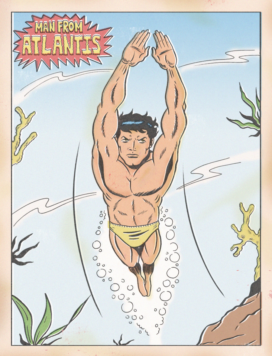 MAN FROM ATLANTIS by paintmarvels