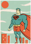 SUPERMAN GOES POPTAGE