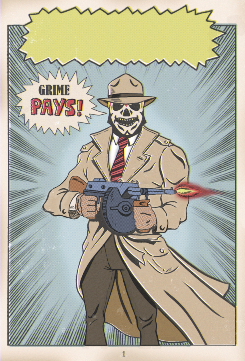 GRIME PAYS by paintmarvels